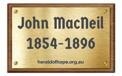 传福音者约翰麦克尼尔 Evangelist John MacNeil1854-1896