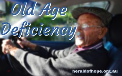 老年人的毛病 Old Age Deficiency