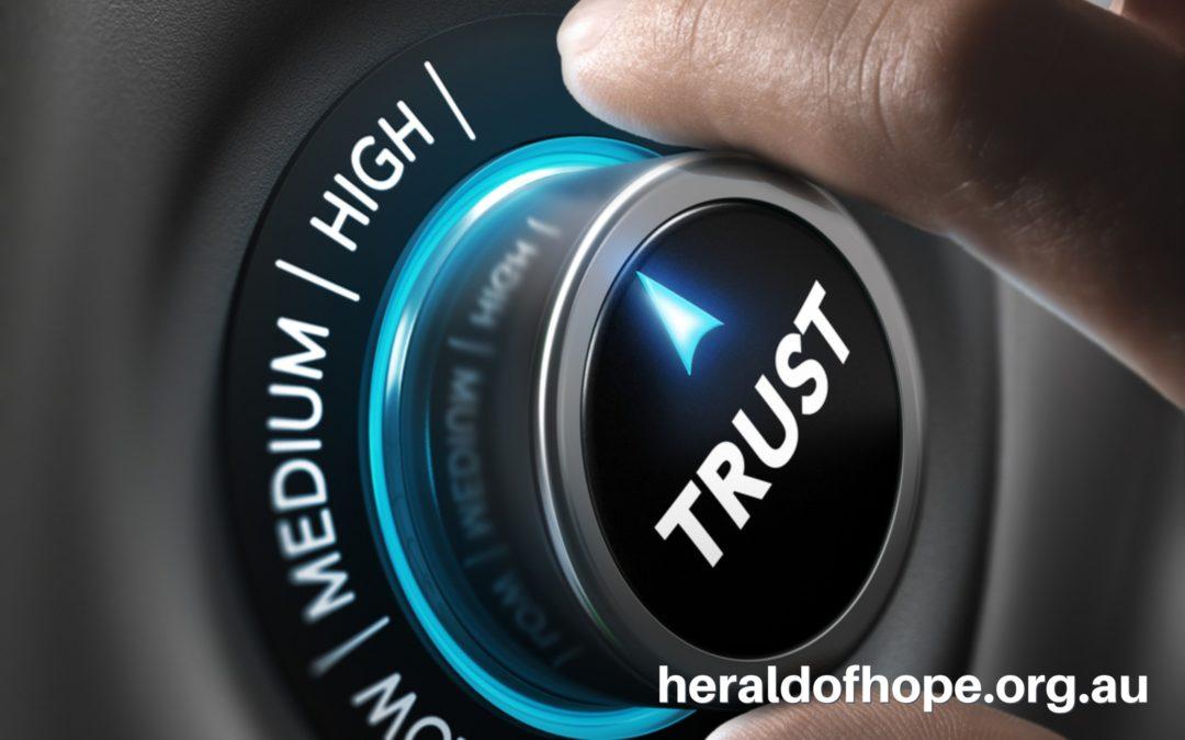 总是信靠 Trust-At All Times