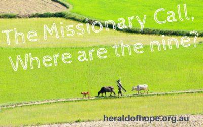 那九个在哪里?The Missionary Call, Where are the nine?