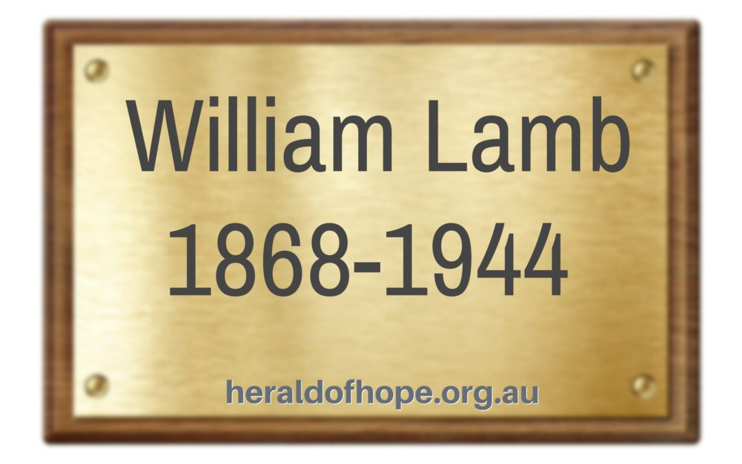 威廉兰姆的事迹 The Story of William Lamb